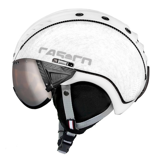 Casco SP-2 Snow Visor - White