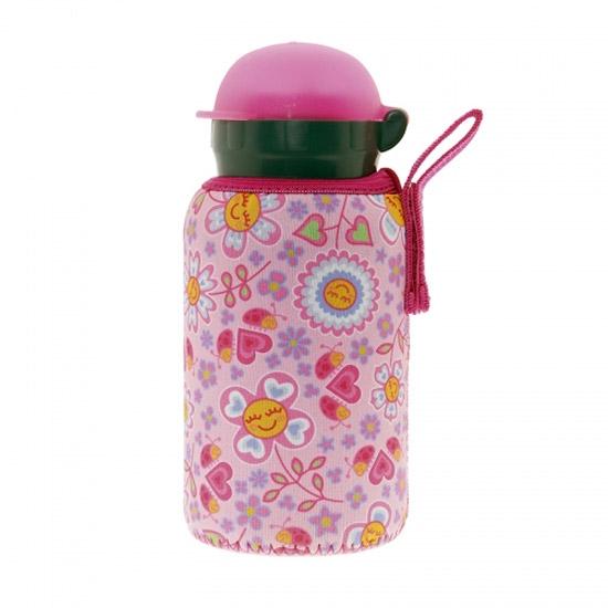 Laken Aluminium Bottle 0.35L+ Neo Cover - Bugs and Flowers