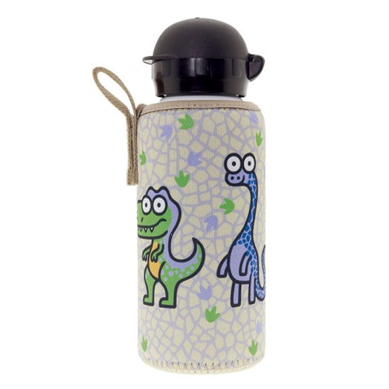 Laken Aluminium Bottle 0,45L+ Neo Cover - Dinos