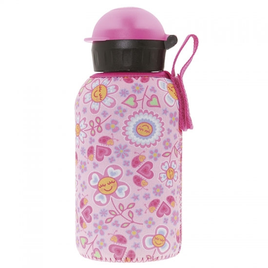 Laken Termo Inox Bottle 0.35L + Neo Cover - Bugs Flowers
