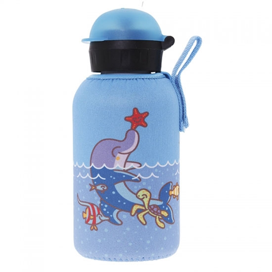Laken Termo Inox Bottle 0.35L + Neo Cover - Dolphin
