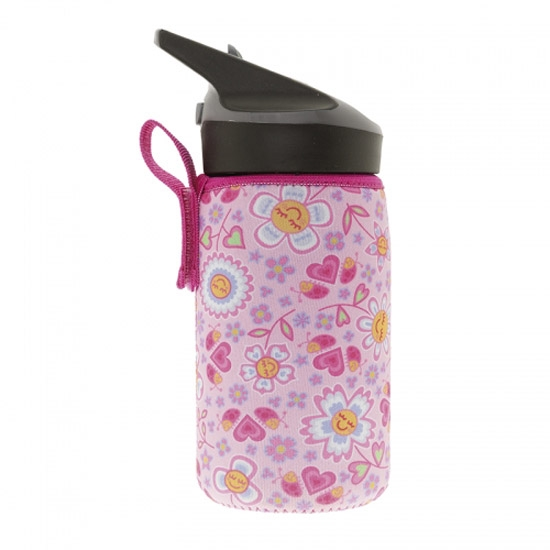 Laken Termo Inox Jannu 0.35L + Neo Cover - Bugs Flowers