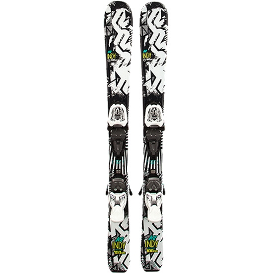 K2 Indy Fastrak2 4.5 Set - Black/White