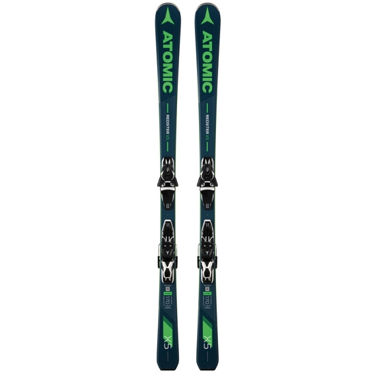 Atomic Redster X5 + FT 11 GW - Grey Blue/Green