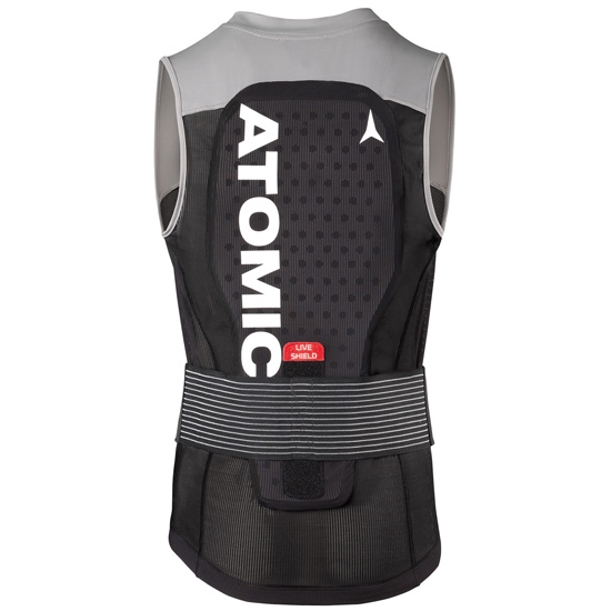 Atomic Live Shield Vest - Black/Grey