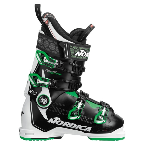 Nordica Speedmachine 120 Thermoformable - Black/White/Green
