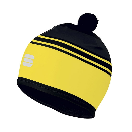 Sportful Squadra Race Hat - Yellow Fluo/Black