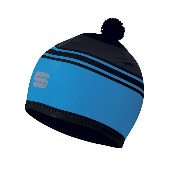 Sportful Squadra Race Hat - Electric Blue/Black