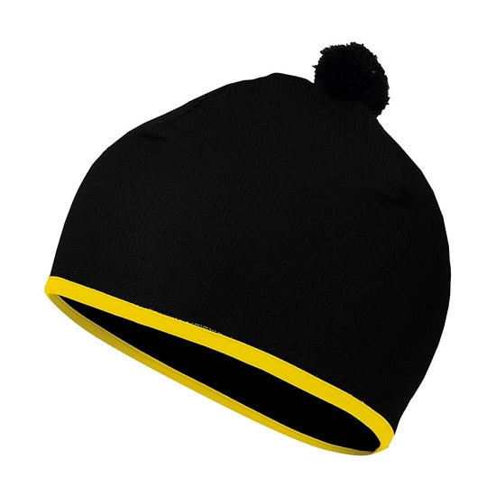 Sportful Rythmo Hat - Black/Yellow Fluo