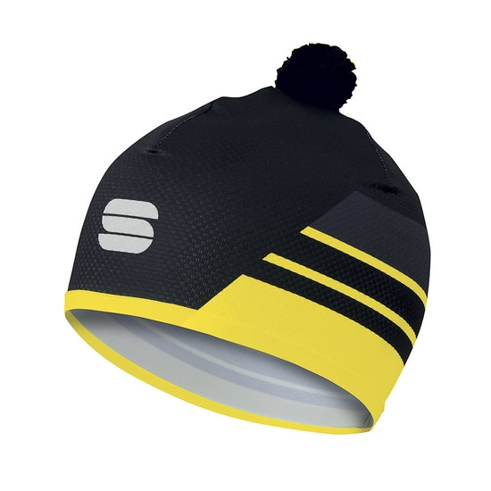 Sportful Squadra Light Race Hat - Yellow Fluo/Black