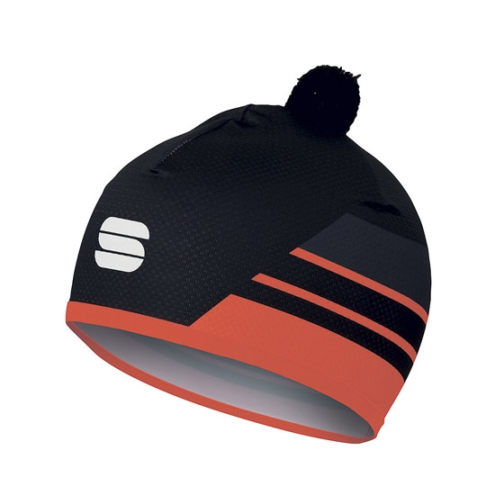 Sportful Squadra Light Race Hat - Red Fluo/Black