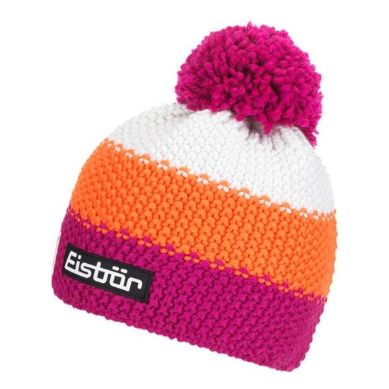 Eisbar Star Neon Pom Kids - Pink/Orange