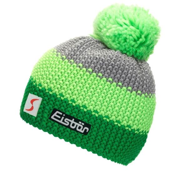 Eisbar Star Neon Pom MÜ SP kids - Green/Grey
