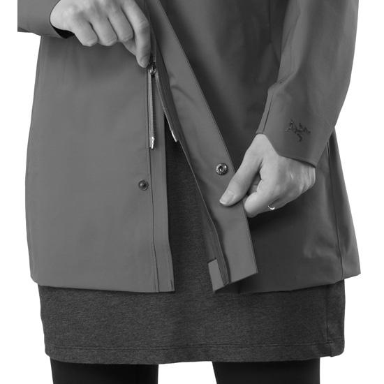 Arc'teryx Codetta Coat W - Detail Foto