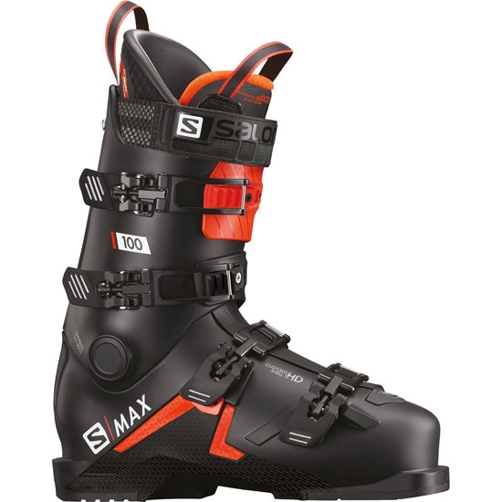 Salomon S-MAX 100 Thermoformable - Black/Orange/White