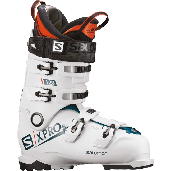 Salomon X Pro 120 Thermoformable - White/Blue