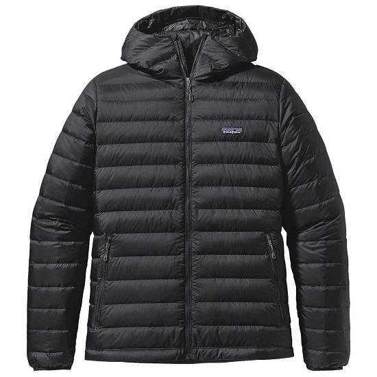 Patagonia Down Sweater Hoody - Black