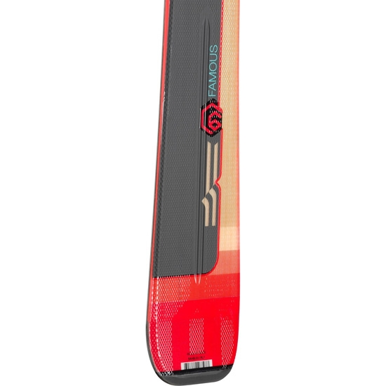Rossignol Famous 6 (XPress) + Xpress W 11 B83 - Photo of detail