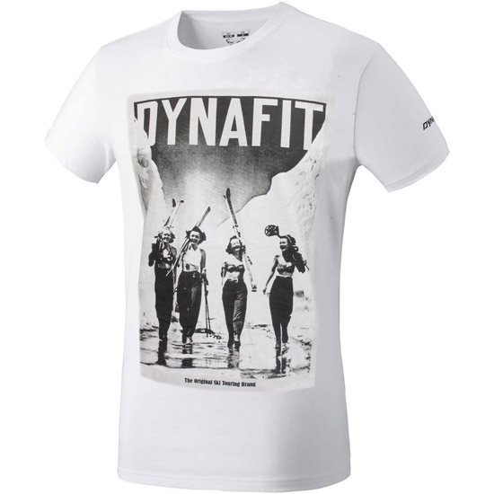 Dynafit Promo Graphic SS Tee - White/Vintage