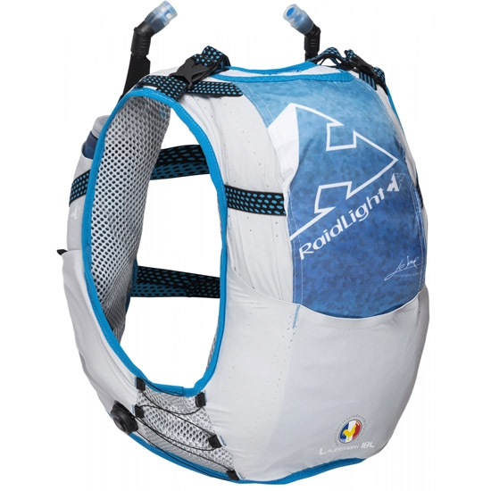 Raidlight Responsiv 10L - Grey/Electric Blue
