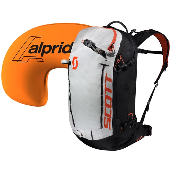 Scott Backcountry Patrol AP E1 30 Kit - Black/Tangerine Orange