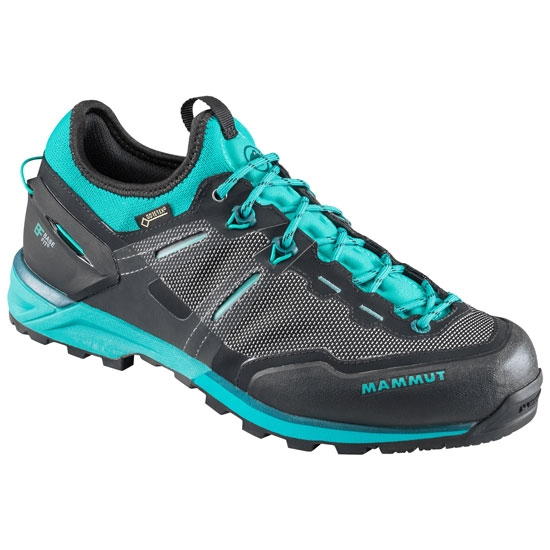 Mammut Alnasca Knit Low GTX W - Black/Dark Atoll