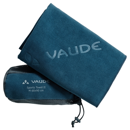 Vaude Sports Towell II - Blue Sapphire