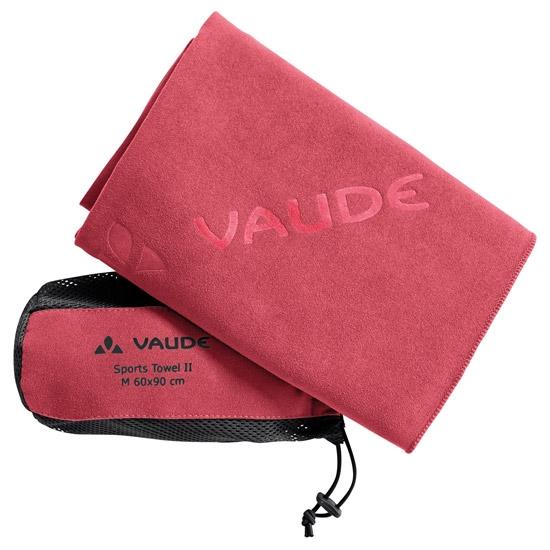 Vaude Sports Towell II - Flame