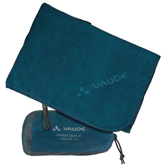 Vaude Comfort Towel II - Blue Sapphire