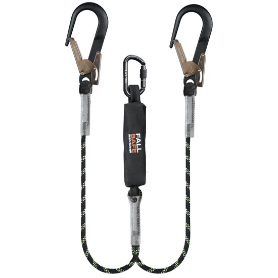 Fallsafe Double Lanyard With Energy ABS -