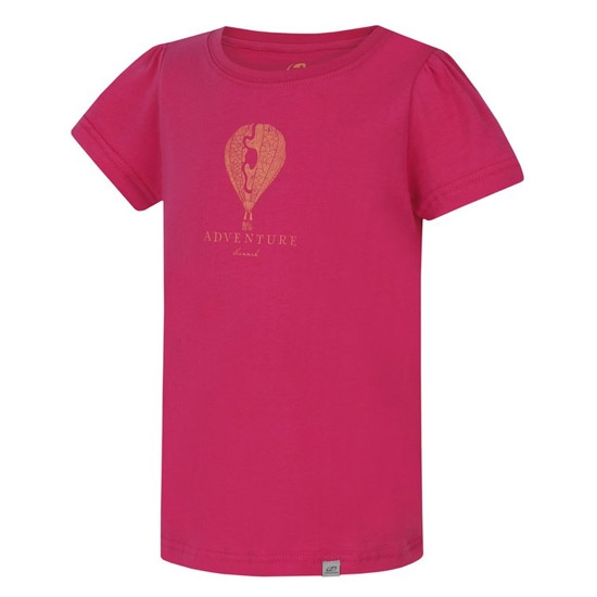 Hannah Poppy Shirt Jr - Fandango Pink