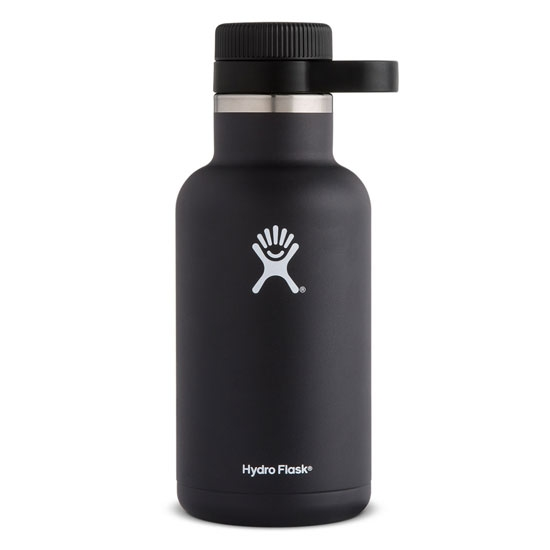 Hydro Flask 64oz Wide Growler - Black