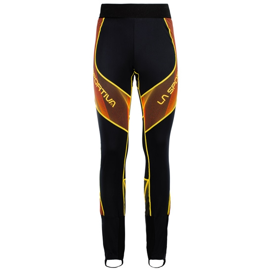 La Sportiva Stratos Racing Pant - Black/Yellow