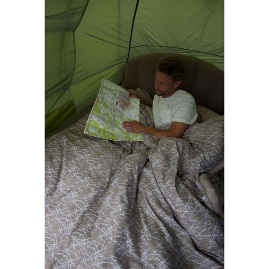 Vango Airhead Double Flocked Airbed - Photo of detail