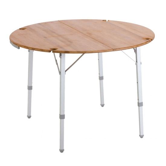 Vango Bamboo Round Table 100cm - Bamboo
