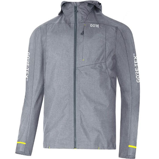 Gore C5 Gtx Active Hooded Jacket - Terra Grey