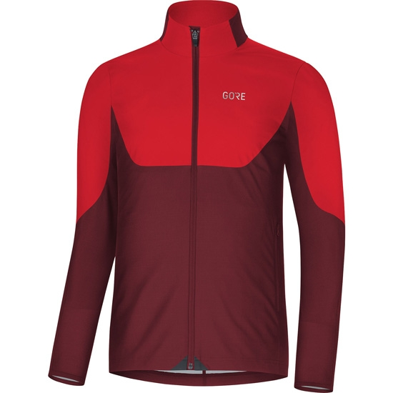Gore R5 Gore Windsopper LS - Red/Chestnut Red