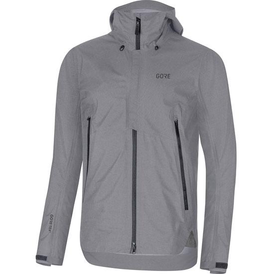 Gore Gore H5 Gtx Active Hooded Jacket - Terra Grey