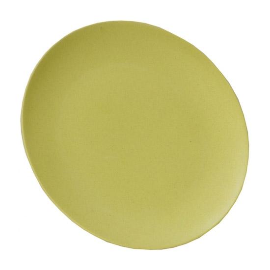 Vango Bamboo Dessert Plate 20cm - Bamboo Green