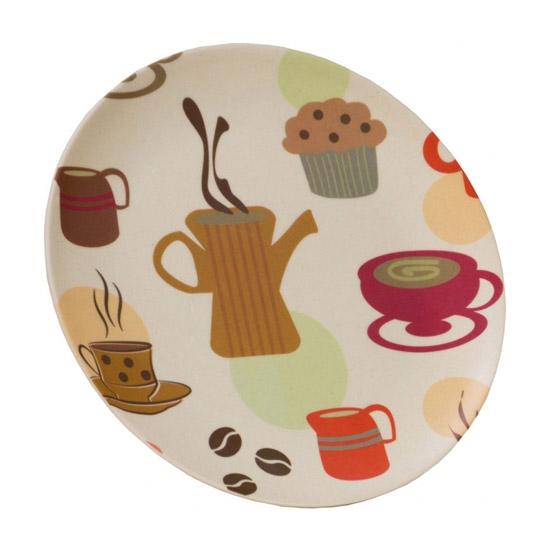 Vango Bamboo Desert Plate 20cm - Coffee Cup