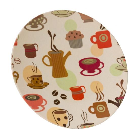 Vango Bamboo Dinner Plate 28cm - Coffee Cup
