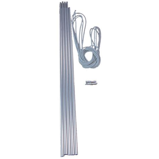 Vango Alloy Pole Set 9.5mm - Silver