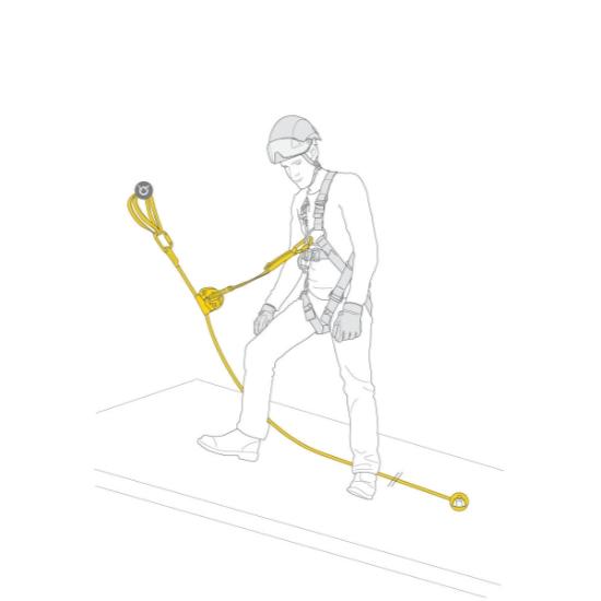 Petzl Kit Asap Lock Vertical Lifeline 20 M -