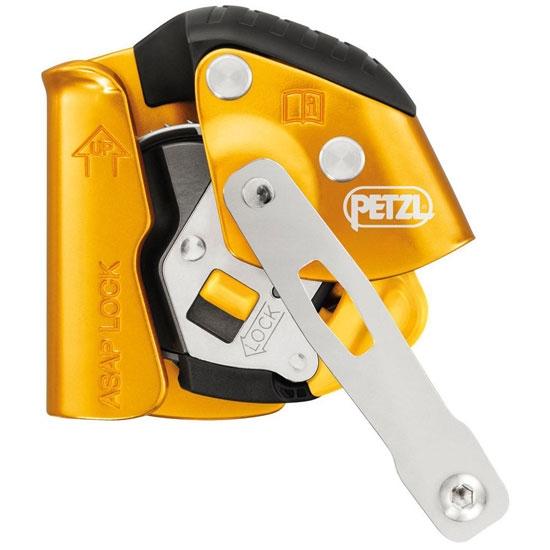 Petzl Kit Asap Lock Anticaidas Deslizante 20 M - Photo of detail