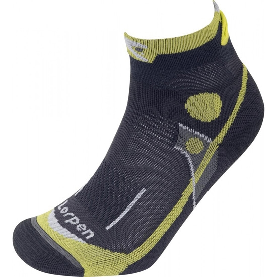 Lorpen T3 Padded Trail Running Ultra Light - Green Lime