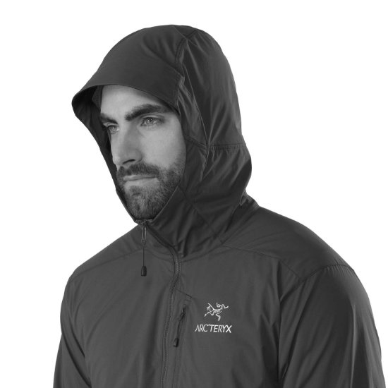 Arc'teryx Squasmish Hoody - Photo of detail