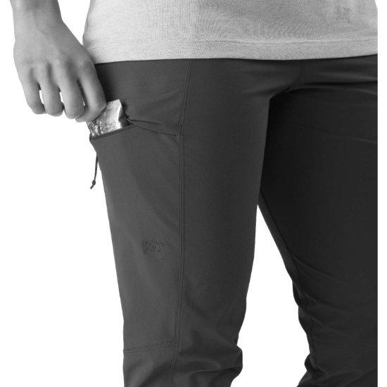 Arc'teryx Sabria Pant W - Detail Foto