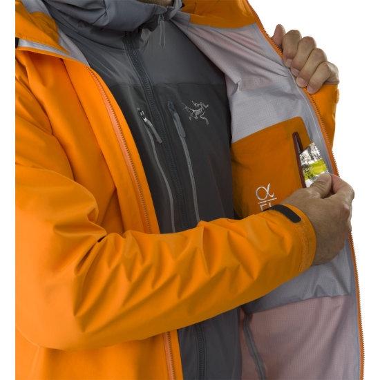 Arc'teryx Alpha FL Jacket - Photo of detail