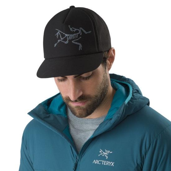 Arc'teryx Bird Trucker Hat - Photo of detail