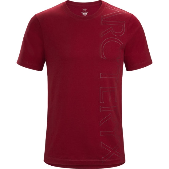 Arc'teryx Macro T-Shirt SS - Red Beach